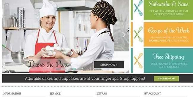 buy | Drop Ship Baking Supply Business | CA190996