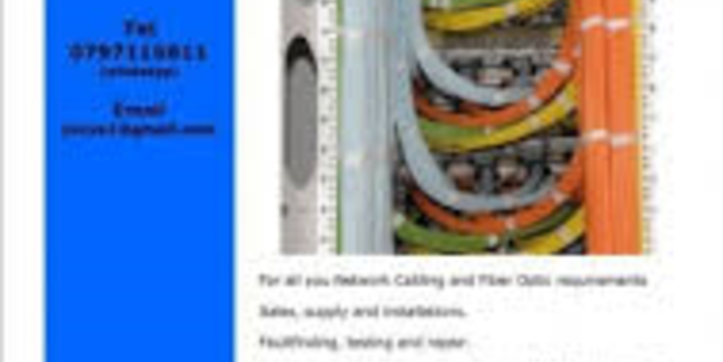 buy | A Fiber Optic and Network Cabling business | ZA477460