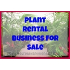 buy | Plant Rental Business In Pennsylvania |