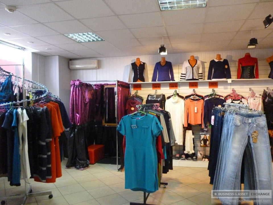 магазин с женской одеждой и нижним бельем