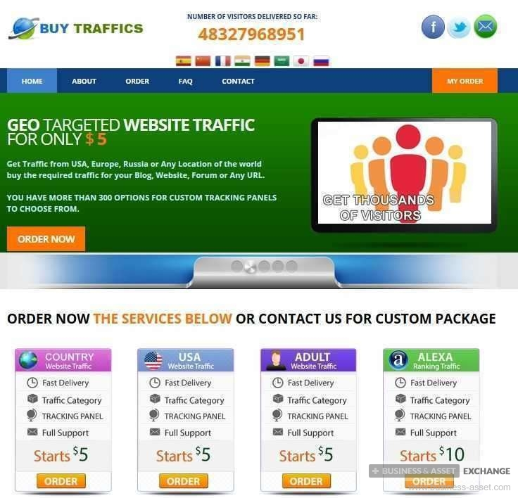 buy | Profitable Business In Selling Website Traffic | CA617293-1